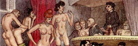 erotic art Vintage family